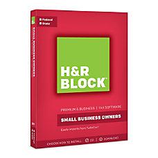 H R Block Premium Business 2017
