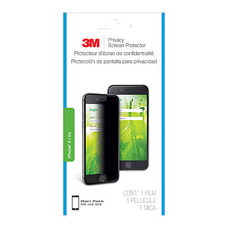 3M™ Portrait Privacy Screen Protector For Apple® iPhone® 6/6S