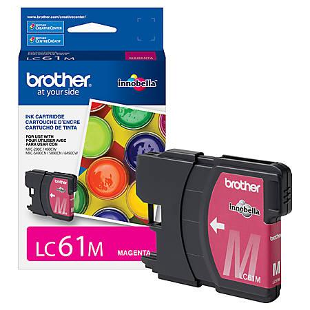 Brother® LC61M Magenta Ink Cartridge