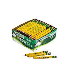 Ticonderoga Golf Pencils With Erasers 2