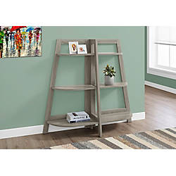 Monarch Specialties Etagere 6 Shelf Bookcase