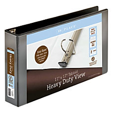 INPLACE Heavy Duty View Binder 3