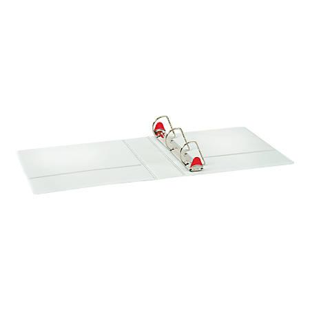 "Cardinal Speedy XtraLife Slant D Ring Binder 2"", White"