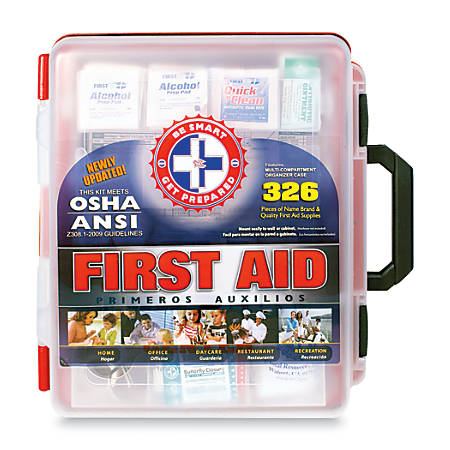 Omar Medical Supplies First Aid Kit, 326 Pieces