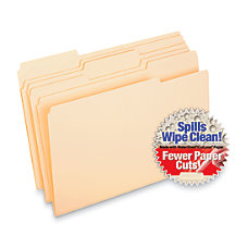 Pendaflex CutLess WaterShed Tab File Folders