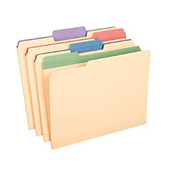 Pendaflex Color Tab File Folders 13