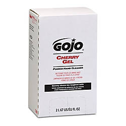 Gojo Gel Pumice Hand Cleaner Cherry