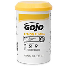 GOJO Lemon Pumice Hand Cleaner Lemon