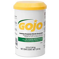 Gojo Lemon Pumice Hand Cleaner Lemon