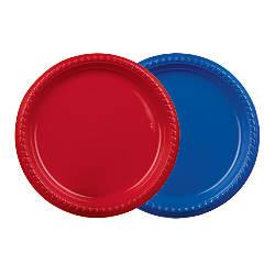 Solo Plastic Plates 9 Blue Pack