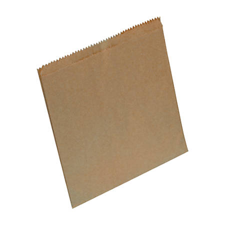 Hospital Specialty Co. Waxed Napkin Receptacle Liners, Brown Kraft Paper, 8 inches x 7 inches x 8 inches, 500 Napkin Receptacle Liners per Case.