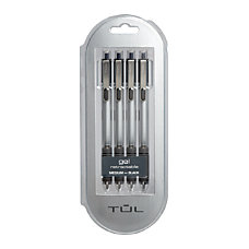 TUL GL3 Retractable Gel Pens Medium