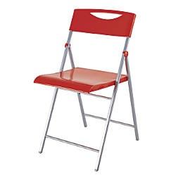 Alba CPSMILE Chair Red Set Of