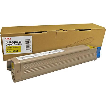 Oki Type C7 Original Toner Cartridge - Laser - 16500 Pages - Yellow - 1 Each