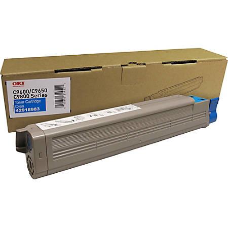 Oki Type C7 Original Toner Cartridge - Laser - 16500 Pages - Cyan - 1 Each