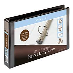 Heavy Duty View Binders By INPLACE