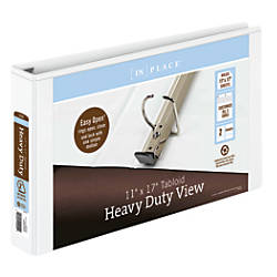 INPLACE Heavy Duty View Binder 2