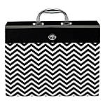 Office Depot® Brand Expanding File Case, 19-Pocket, Letter Size, Multicolor Fashion Print