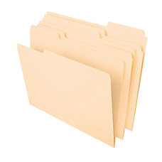 Office Depot Heavyweight Manila File Folders