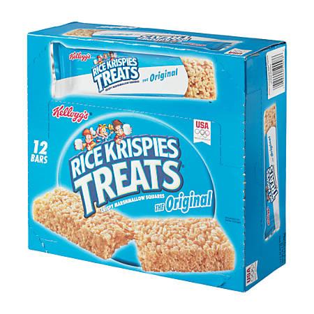 Kellogg's® Rice Krispies Treats, 2.2 Oz, Box Of 12