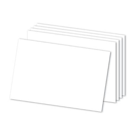 "Office Depot® Brand Blank Index Cards, 4"" x 6"", White, Pack Of 300"