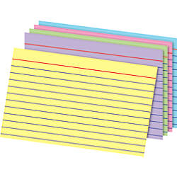 Office Depot Brand Index Cards 4