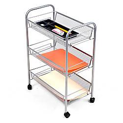 Mind Reader Roll 3 Shelf Metal