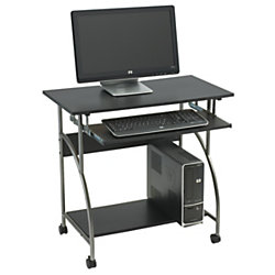 OfficeMax Computer Cart, Black