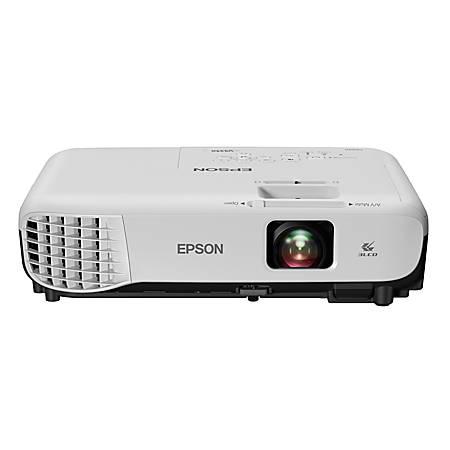 Epson® VS350 XGA 3LCD Projector, V11H839220