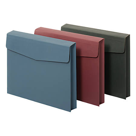 """Office Depot® Brand Expanding Wallet, Letter Size, 2"""" Expansion, Assorted Colors"""