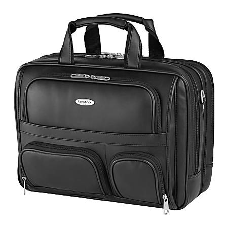 "Samsonite® Computer Portfolio With 15.4"" Laptop Pocket, Black"
