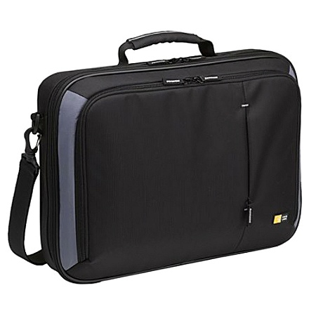 Case Logic Vnc 218 Carrying Briefcase For 18 4 Notebook Black By Office Depot Officemax