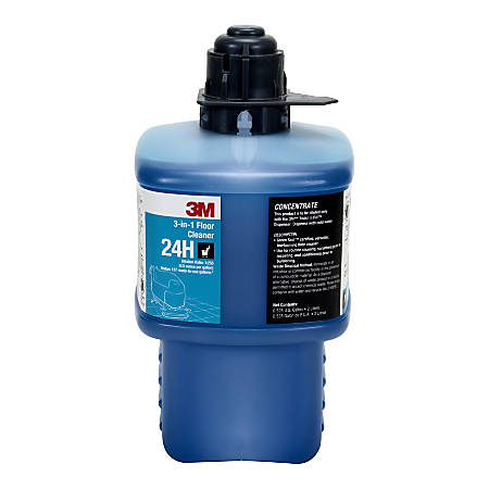 3m 24h 3 In 1 Floor Cleaner Concentrate 2 Liters Item 1404702