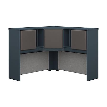 "Bush Business Furniture Office Advantage Corner Hutch 48""W, Slate/Slate, Standard Delivery"