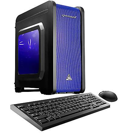 CybertronPC Electrum QS-GT7 Desktop PC, AMD FX Quad-Core, 8GB Memory, 1TB Hard Drive, Windows® 10