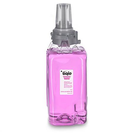 GOJO® Antibacterial Plum Foam Handwash ADX-2 Refills, Plum Scent, Pack Of 3 Bottles