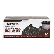 Highmark Trash Bags 55 Gallons Box