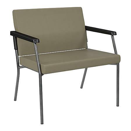 Bariatric Big & Tall Chair, Dillion Fabric With Arms, Sage, BC9603-R106