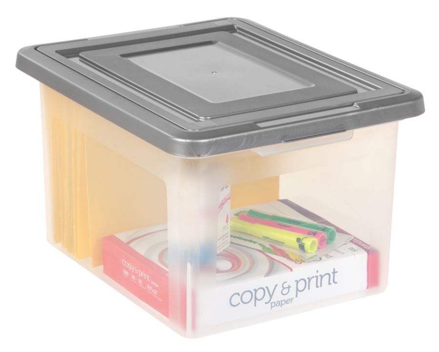 IRIS File N Stack File Box 2 pack by Office Depot OfficeMax