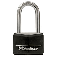 Master Lock Long Shackle Steel Padlock
