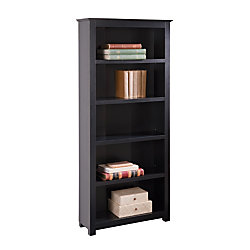 Officemax 5 Shelf Bookcase 70 3 4 H X 30 1