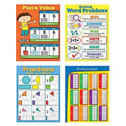 Carson Dellosa Math Chartlets 17 x