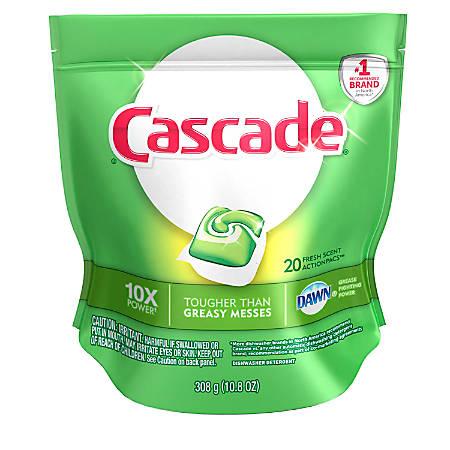 Cascade Action Pacs, 12.7 Oz, Case Of 5 Bags