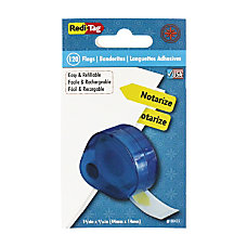Redi Tag Removable Notarize Flags 120