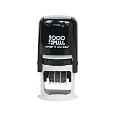 2000 Plus Self Inking Stamp Date