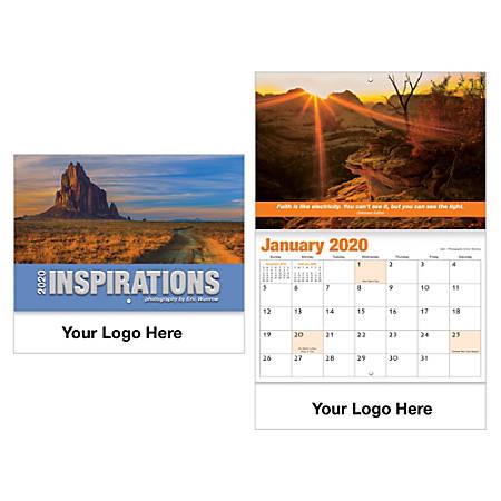 Inspirational Thoughts Wall Calendar