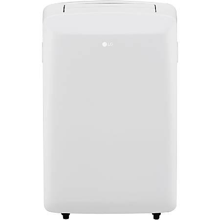 """LG Portable Air Conditioner, 8,000 BTU, 27 7/16""""H x 16 15/16""""W x 12 13/16""""D, White"""