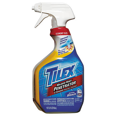 Tilex® Mildew Root Penetrator And Remover With Bleach, Unscented, 32 Oz, Pack Of 9