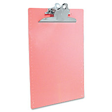 Saunders Recycled 1 Capacity Plastic Clipboard