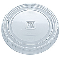 Fabrikal Plastic Lids For Portion Cups